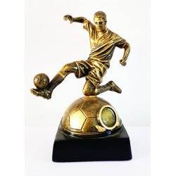 jugador sobre balón 19 cm